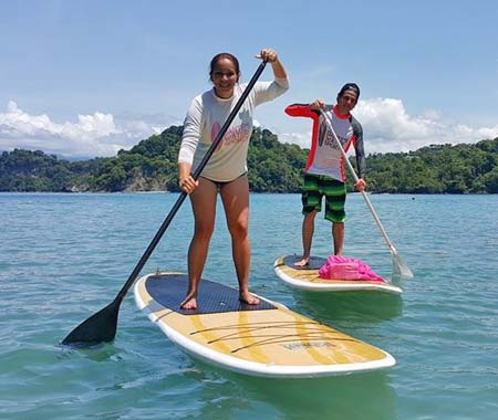 SUP lessons, rentals, and tours in Costa Rica