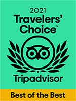 2021 Travelers Choice - Best of the Best - Trip Advsior